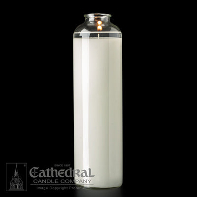 SacraLite Glass Sanctuary Candles - 14 Day