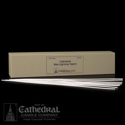 Wax Lighting Tapers - 500 Count - Gerken's Religious Supplies