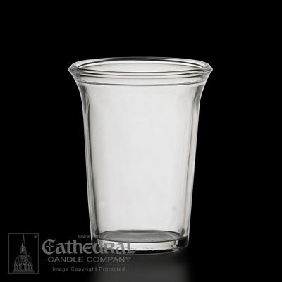 24 Hour Votive Glasses - Multiple Color Options - Gerken's Religious Supplies