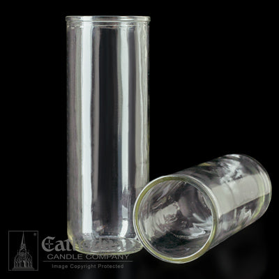 5,6,7 Day Inserta-Lite Reusable Globe - Clear Glass