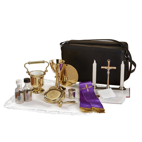Cemetery Holy Water Pot Travel Kit - Gerken's Religious Supplies
