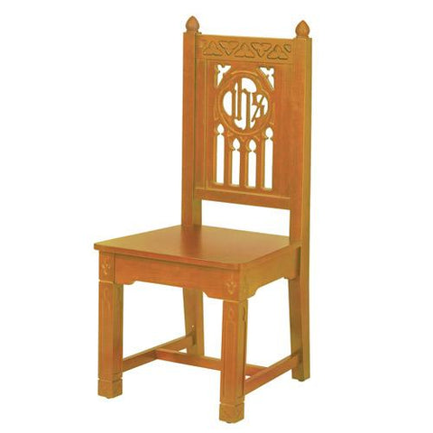 Florentine Collection Side Chair - Oak - Gerken's Religious Supplies