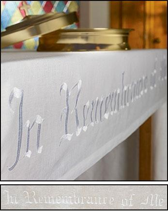 Remembrance Altar Frontal - Poly/Cotton - Gerken's Religious Supplies