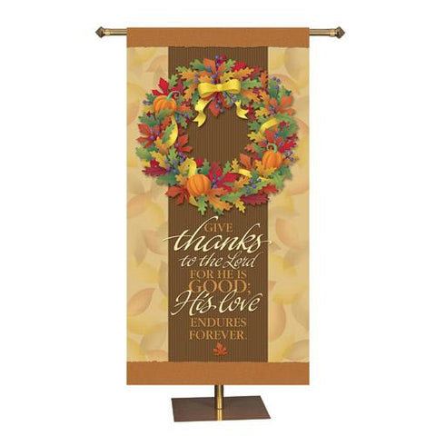 Thanksgiving Banner - Gerken's Religious Supplies