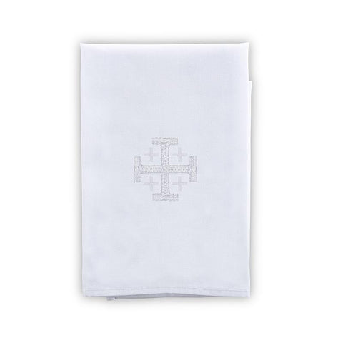 Jerusalem Cross Purificator - Poly/Cotton