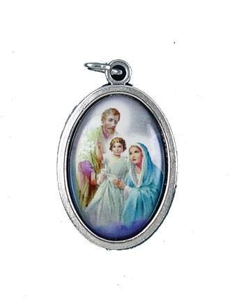 Holy Family Oxidized Picture Medal - Gerken's Religious Supplies