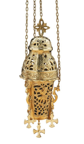 Ornate Hanging Incense Burner - Gerken's Religious Supplies