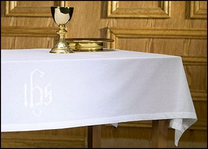 IHS Altar Frontal - Poly/Cotton - Gerken's Religious Supplies