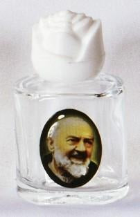 Padre Pio Holy Water Bottle - Gerken's Religious Supplies