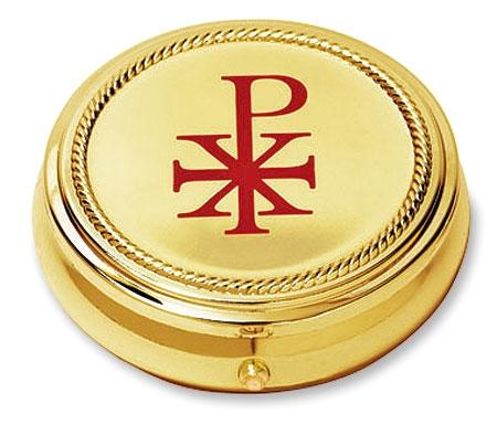 Chi Rho Hospital Pyx - Gerken's Religious Supplies