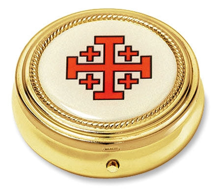 Jerusalem Cross Pyx