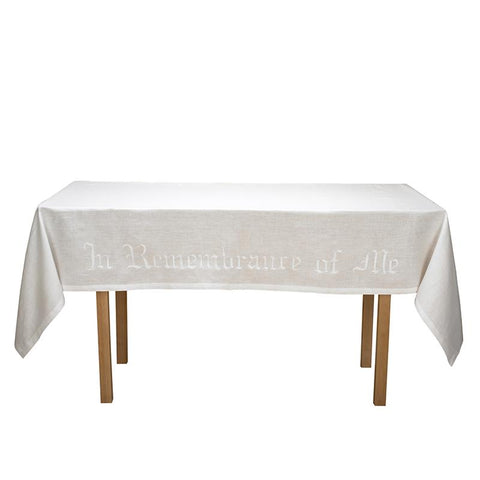 Remembrance Altar Frontal - 100% Linen - Gerken's Religious Supplies