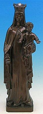 "Lady Mercy Outdoor Statue with Bronze Finish, 24"" - Gerken's Religious Supplies"