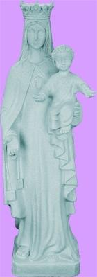 "Lady Mercy Outdoor Statue with Granite Finish, 24"" - Gerken's Religious Supplies"