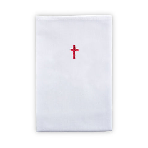 Red Cross Lavabo Towel - 100% Cotton