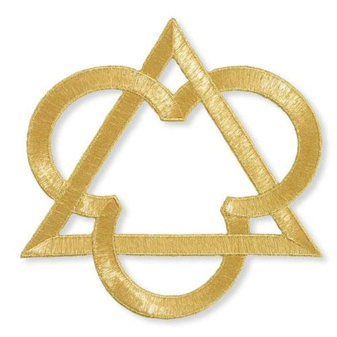 Trinity Symbol Applique 4""