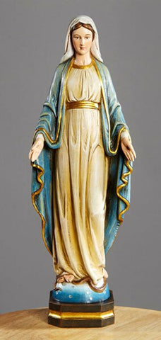 "Our Lady of Grace 12"" Statue"