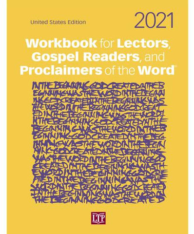Workbook for Lectors US 2021 - Gerken's Religious Supplies