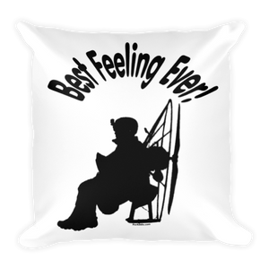 Best Feeling Ever - Paramotor Square Pillow - Pillow -- ParAddix -- Canadian Online ParaStore