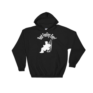 Best Feeling Ever (white logo) - Paramotor Hoodie Sweatshirt - ParAddix