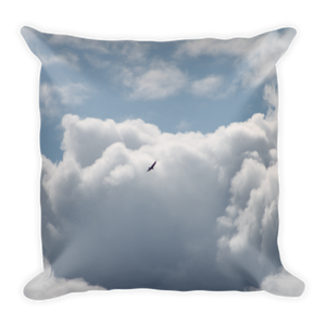 Bird Soaring - Square Pillow - Pillow -- ParAddix -- Canadian Online ParaStore for the Paramotor and Paraglider Addicts