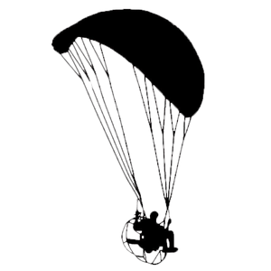 Powered Paragliding Sticker - Sticker -- ParAddix -- Canadian Online ParaStore for the Paramotor and Paraglider Addicts