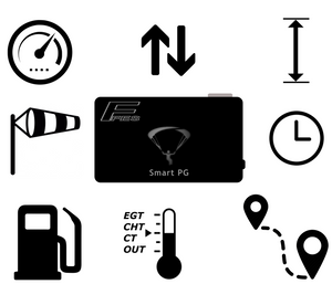 Smart PG - Measurement Device & Sensors for Paramotors - Smart PG -- ParAddix -- Canadian Online ParaStore for the Paramotor and Paraglider Addicts