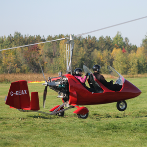 Autogyro Tandem Flight (Canada) - Tandem -- ParAddix -- Canadian Online ParaStore for the Paramotor and Paraglider Addicts