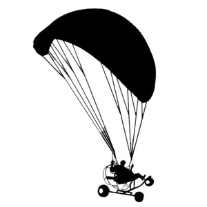 Paramotor Trike Sticker - Sticker -- ParAddix -- Canadian Online ParaStore for the Paramotor and Paraglider Addicts
