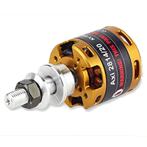 AXi 15 2814/12 Outrunner Brushless Motor V2 - RC Motor - RC Motor -- ParAddix -- Canadian Online ParaStore for the Paramotor and Paraglider Addicts