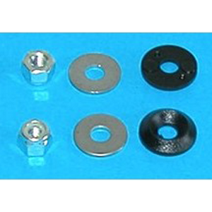 Cover Nut and Washers - M4RD - Miniplane Top 80 (Canada Only) - Engine Part - Light -- ParAddix -- Canadian Online ParaStore