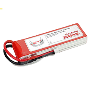 3300mAh 3S 30C Jeti Pro Power Li-Poly Battery Pack - RC Battery - RC Battery -- ParAddix -- Canadian Online ParaStore