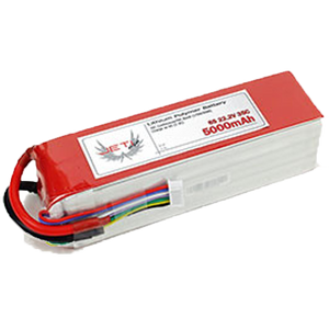 5000mAh 6S 35C Jeti Pro Power Li-Poly Battery Packs - RC Battery - RC Battery -- ParAddix -- Canadian Online ParaStore
