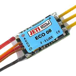 RC ESC - Jeti ECO 08 Brushless ESC - RC ESC -- ParAddix -- Canadian Online ParaStore for the Paramotor and Paraglider Addicts