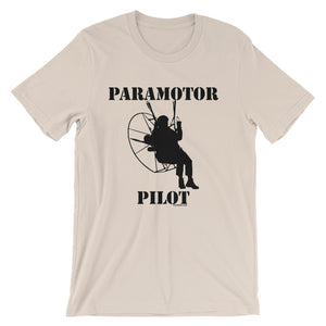 Paramotor Pilot - Short-Sleeve Unisex T-Shirt - T-Shirt -- ParAddix -- Canadian Online ParaStore for the Paramotor and Paraglider Addicts