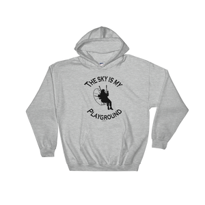 The Sky is my Playground - Paramotor Hoodie Sweatshirt - ParAddix