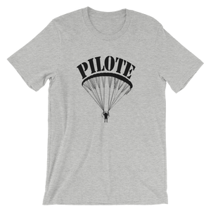 Pilote de Paramoteur (Logo noir avant) - T-Shirt Unisexe - T-Shirt -- ParAddix -- Canadian Online ParaStore for the Paramotor and Paraglider Addicts