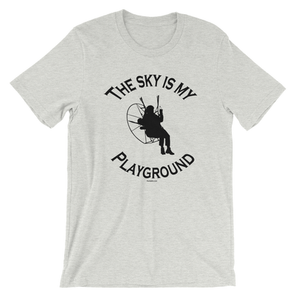 The Sky is my Playground - Paramotor Short-Sleeve Unisex T-Shirt
