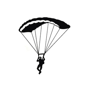 Parachute Reflective Vinyl Car Stickers - Sticker -- ParAddix -- Canadian Online ParaStore for the Paramotor and Paraglider Addicts