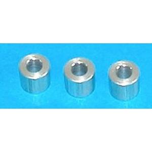 Short Spacers (3) - M6S3 - Miniplane Top 80 (Canada Only) - Engine Part - Light -- ParAddix -- Canadian Online ParaStore