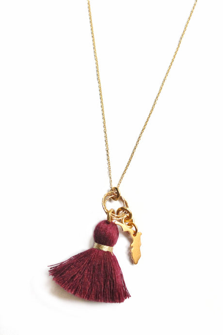 Florida State Necklace (Other Colors Available)