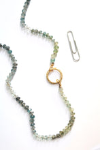 Ombre Aquamarine necklace