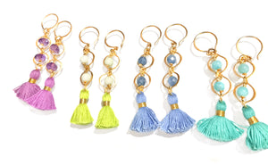 Tiered Tassel Earrings  (Other Colors Available)