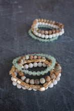 sea and stone jewelry Hammock Gemstone Stretch Stack
