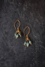 sea and stone jewelry Tumbled Turquoise Earrings