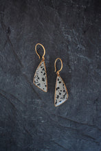 sea and stone jewelry Dalmatian Jasper Earrings
