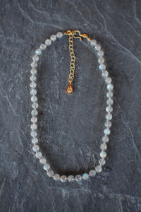 Adjustable Labradorite Necklace
