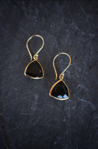 Faceted Onyx Drops