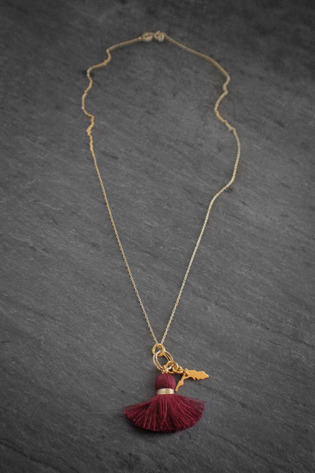 sea and stone jewelry florida state necklace
