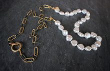 sea and stone jewelry Mixed Metal & Pearl Convertible Necklace